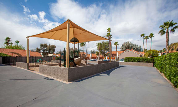 Playground at Orange Tree Village Apartments in Tucson AZ