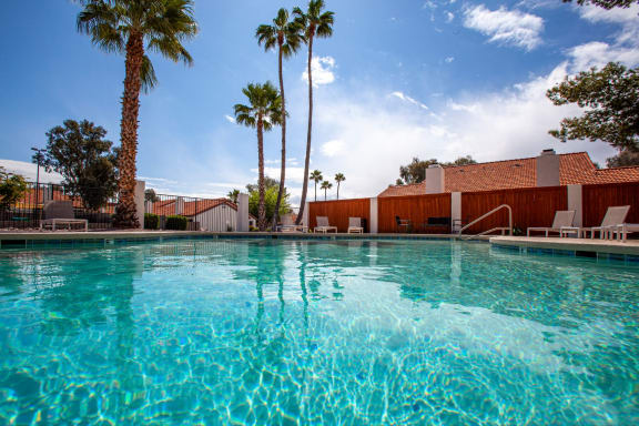 Pool at Orange Tree Village Apartments in Tucson AZ