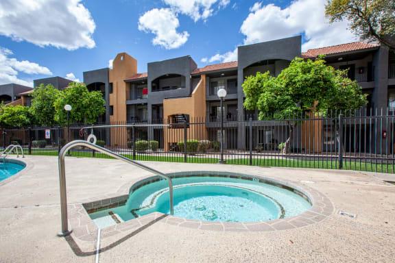 Spa at Casa Bella Apartments in Tucson AZ 4-2020