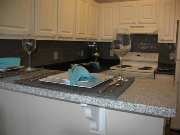 Model Kitchen Granite