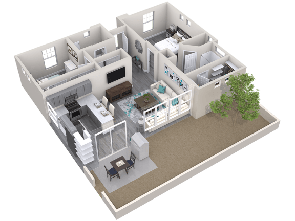 The Retreat Floor Plan at Avilla Parkway, Texas, 75009