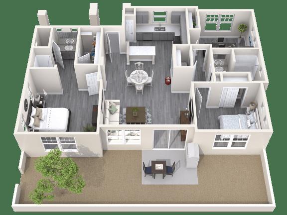 The Haven Floor Plan at Avilla Parkway, Texas, 75009