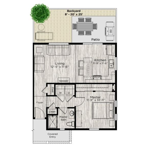 The Alcove Floor Plan at Avilla Parkway, Celina, TX, 75009