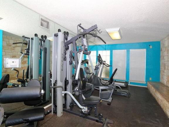 the granite at tuscany hills san antonio apartments fitness center