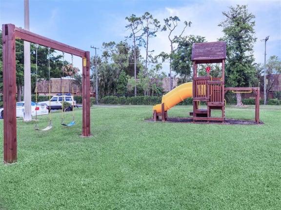 apartment community childrens playground