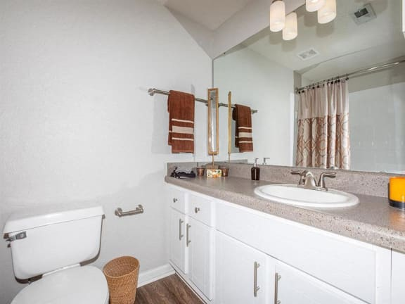 jackson square tallahassee apartments model home large counter bathroom sink
