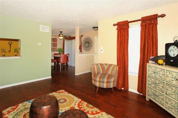 San Antonio Granite at Tuscany Hills Apartments Palazzo Floor Plan living room