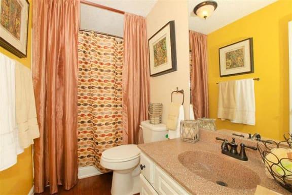 San Antonio Granite at Tuscany Hills Apartments Palazzo Floor Plan updated bathrooms