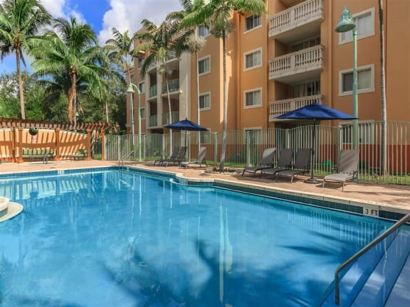 shamrock of sunrise fl apartments pool deck