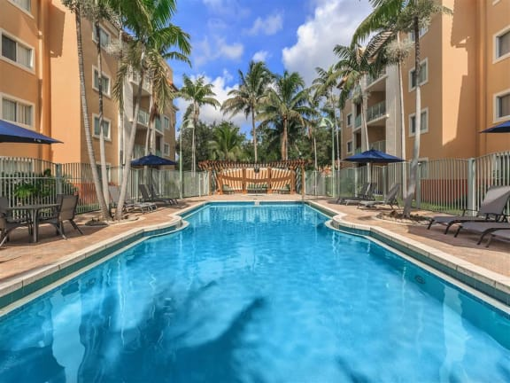 shamrock of sunrise fl apartments pool view
