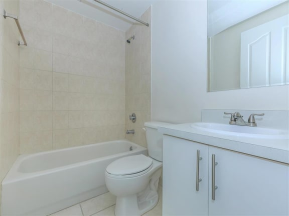 shamrock of sunrise fl apartments updated unit bathroom