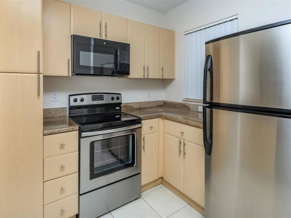 shamrock of sunrise fl apartments updated unit kitchen