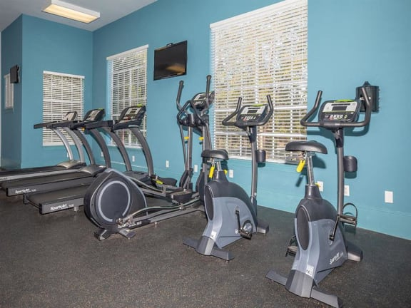 jackson square fitness center cardio machines