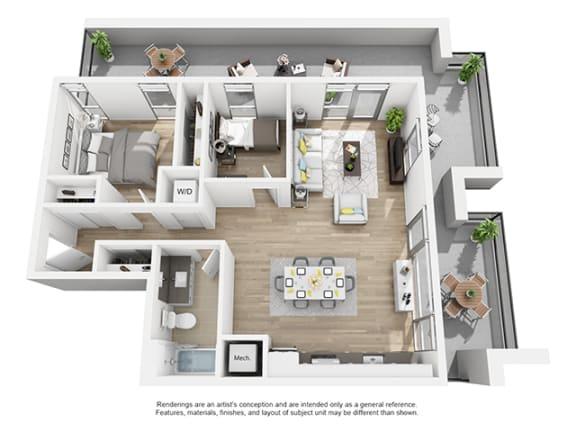 Floor Plan  The-Shay_1d1_76_891 floor plan