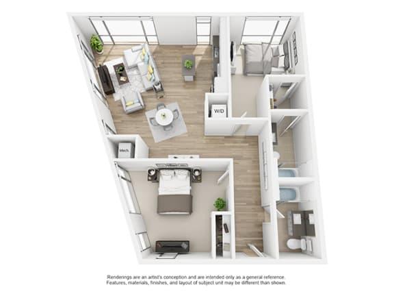 Floor Plan  The-Shay_22c_75_1104 floor plan