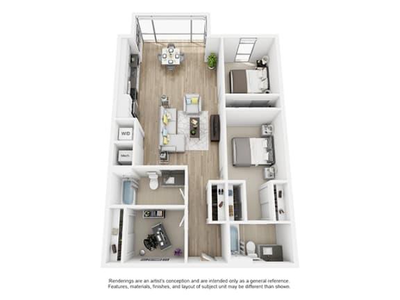 Floor Plan  The-Shay_2d2_75_1096 floor plan