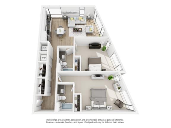 Floor Plan  The-Shay_2d2d_75_1223 floor plan