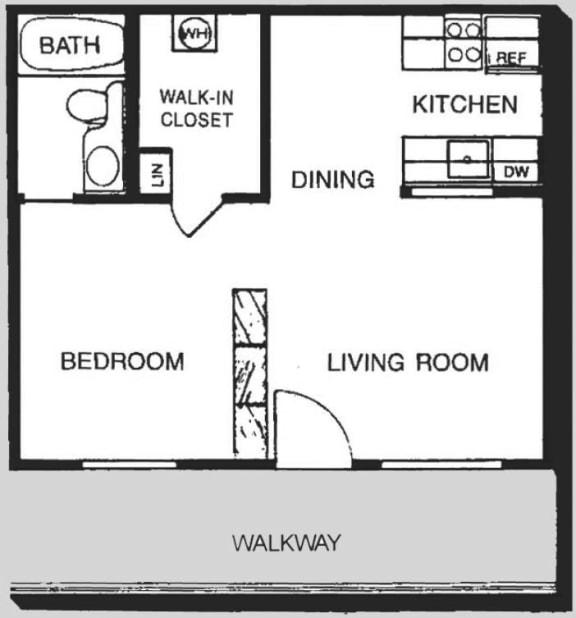 1A Floor Plan | Promontory