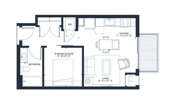 Crosby floorplan