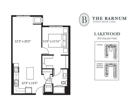 Floor Plan  Lakewood