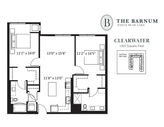 Floor Plan  Clearwater