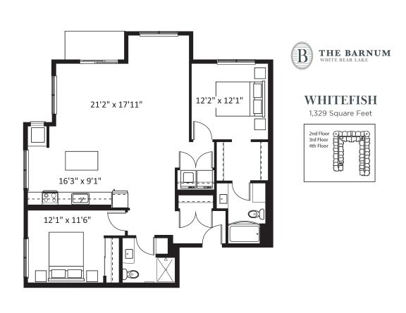 Floor Plan  Whitefish