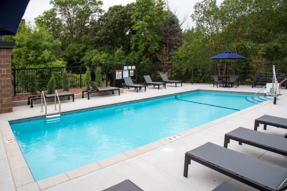 UPII outdoor pool with sundeck