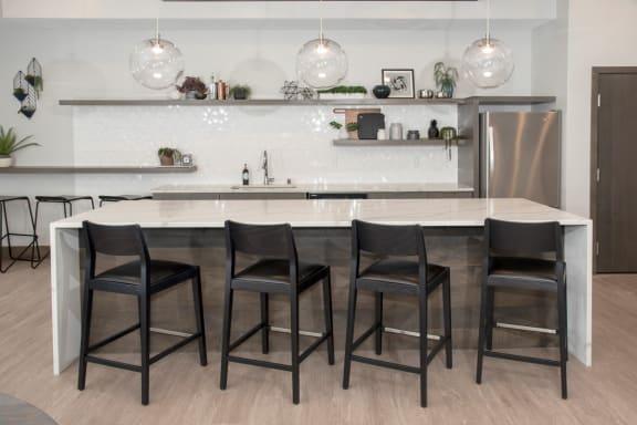 UPII community room kitchen