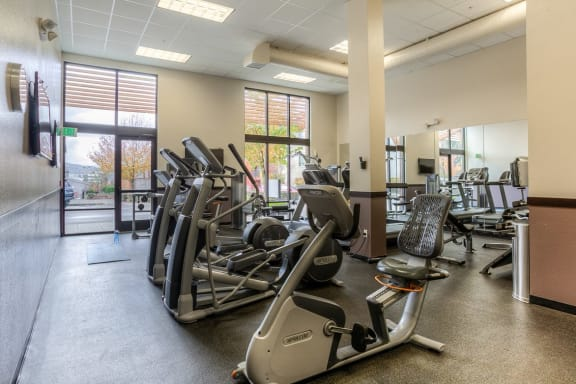 Modern Fitness Center at Discovery Heights, Issaquah, Washington