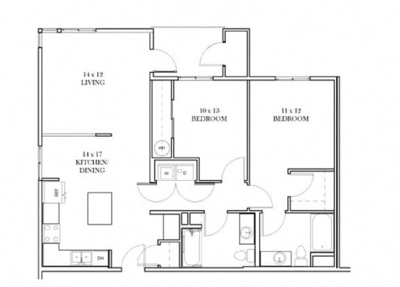 Lincoldn Floorplan at Discovery Heights, Washington