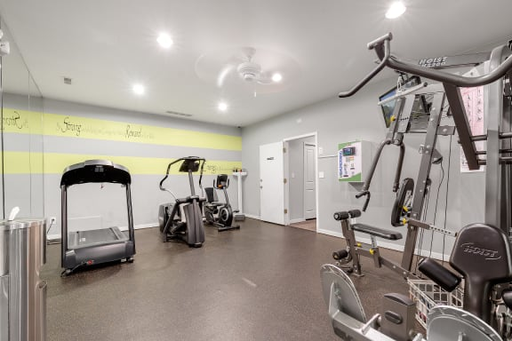 Fitness Center at Eastwood Village Apartments, Clinton Township, MI