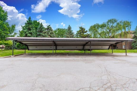 Carports at Lakeside Village Apartments, Clinton Township 48038