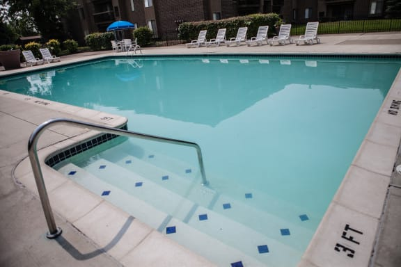 Heated Pool at Clubhouse Lakeside Village Apartments, Clinton Township, MI