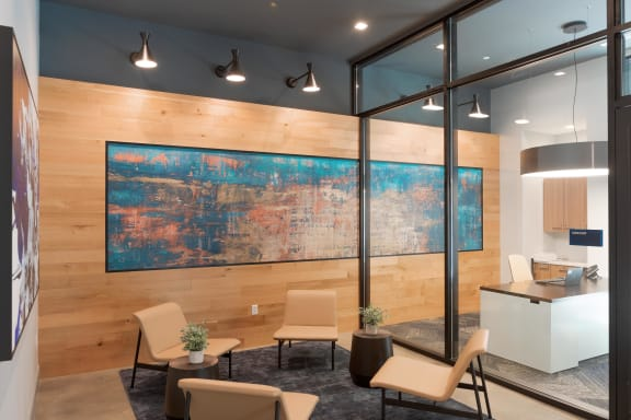 Lobby Leasing And Management Office at Nightingale, Rhode Island, 02903