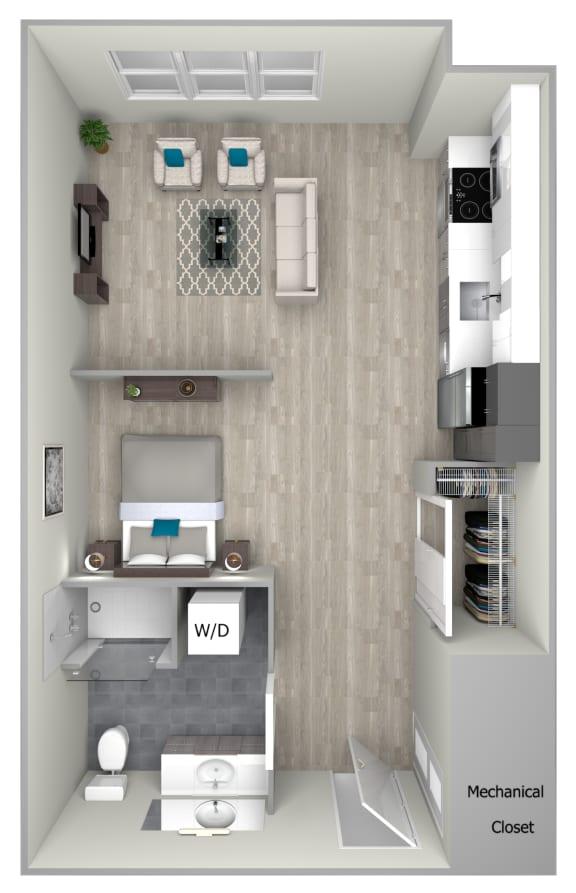 Studio 1 2 Bedroom Apartments Nightingale Apartments Floor Plans