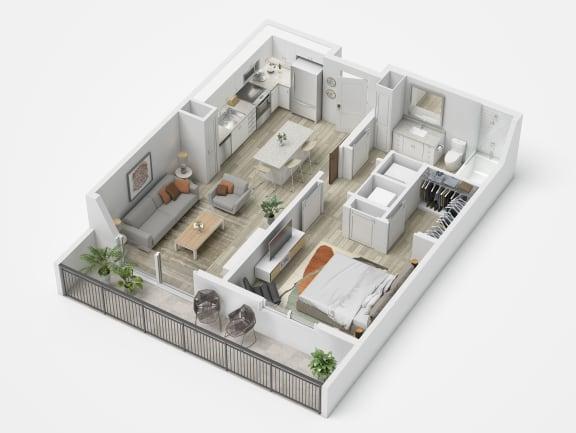 Uptown Boca A1.1 Floor Plan