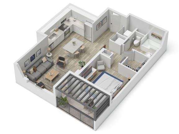 Uptown Boca A3.1 Floor Plan