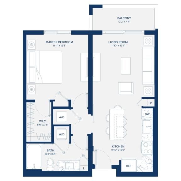 Uptown Boca Floor Plan A1