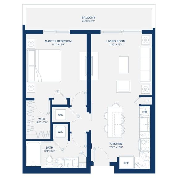 Uptown Boca Floor Plan A1.1
