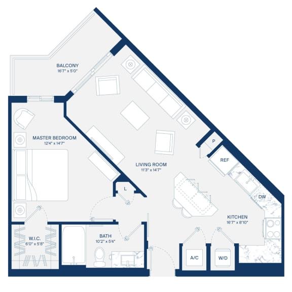Uptown Boca Floor Plan A2