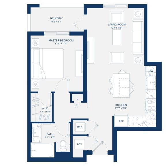 Uptown Boca Floor Plan A3
