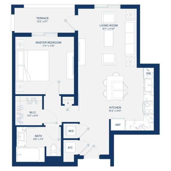 Uptown Boca Floor Plan A3.1