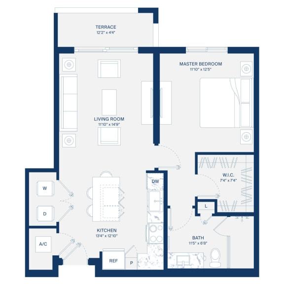 Uptown Boca Floor Plan A4