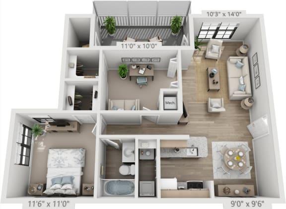 Floor Plan  ST TROPEZ