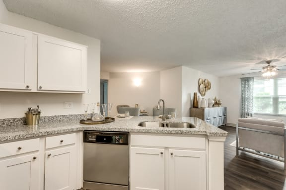 Bahia Cove Apartments Model Kitchen