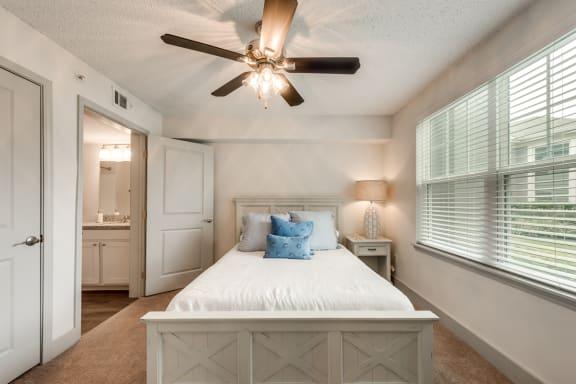 Bahia Cove Apartments Model Bedroom