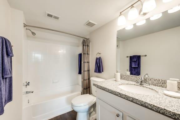 Bahia Cove Apartments Model Bathroom