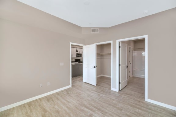 Private Master Bedrooms with En Suite Bathrooms at The Premiere at Eastmark Apartments, Mesa