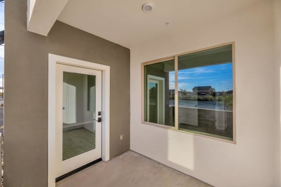 Personal Patio or Balcony at The Premiere at Eastmark Apartments, P.B. BELL , Mesa, Arizona