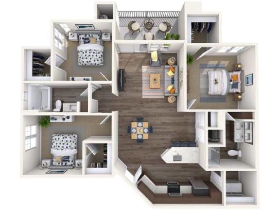 Floor Plan  C1 Floor Plan at Copper Falls, Glendale, AZ